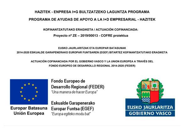 Proyecto nº ZE-2019/00013 – COFRE